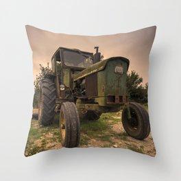 John Deere 2130 Throw Pillow