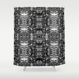Fragments Shower Curtain