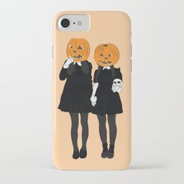 Pumpkin Heads iPhone Case