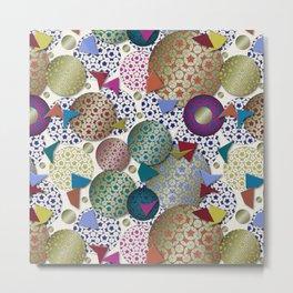 Penrose Tiling Inspiration Metal Print