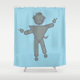 Il FAUNO Shower Curtain
