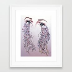 Tears Framed Art Print