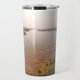 Misty Assateague Island Marsh Travel Mug