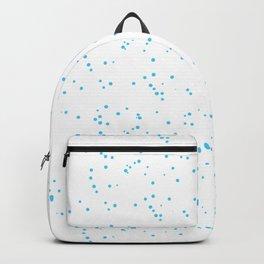 Blue White Shambolic Bubbles Backpack