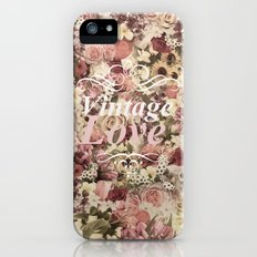 VINTAGE LOVE  iPhone (5, 5s) Slim Case
