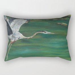 Flying Rectangular Pillow