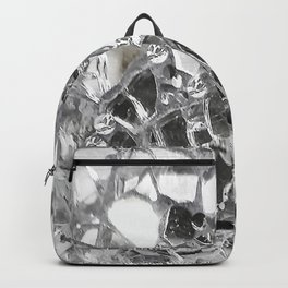 Silver Mirrored Mosaic Backpack