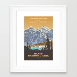 Banff National Park Framed Art Print