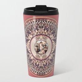 Mandala: Bouguereau (Pink) Travel Mug