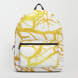 Gold Branches Backpack