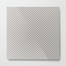 Canteen Polka Dots Metal Print