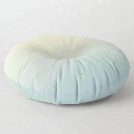 FADING AWAY - Minimal Plain Soft Mood Color Blend Prints Floor Pillow