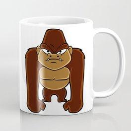 geometric gorilla Coffee Mug