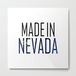 Made In Nevada Metal Print