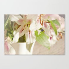 Lilies of the Field Canvas Print