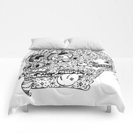 Gamblin Skull Comforters