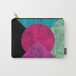 Colorful Abstract Geometric Background Carry-All Pouch