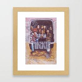 INXS Framed Art Print