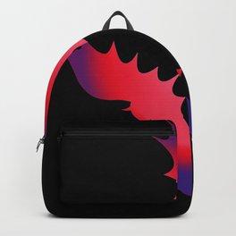 Halloween bat silhouette bats costume Backpack