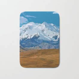 Denali National Park, Mount McKinley Bath Mat