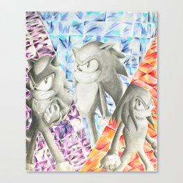 Hedgehog and company Canvas Print