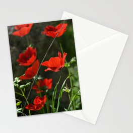 Anemones and Rock Stationery Cards