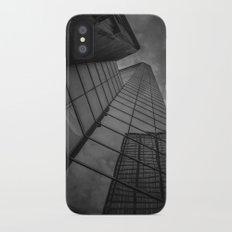 looking up; feeling grey... iPhone X Slim Case