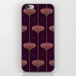 Wallpaper Floral Pattern In Style OF William Morris iPhone Skin