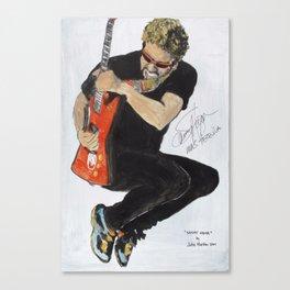 Sammy Hagar Canvas Print