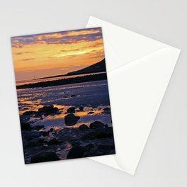 Coastal Sunset, Wales Stationery Cards