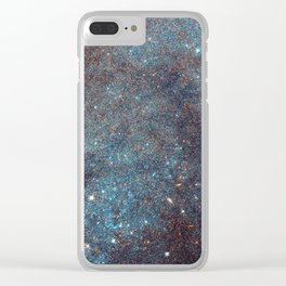 Awesome Andromeda Galaxy Photograph by NASA Hubble Telescope Clear iPhone Case
