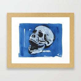 Gunga Skull 04 Framed Art Print