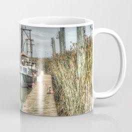 Boat in Marsh 3 Coffee Mug