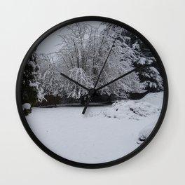 Powdered Water Wall Clock
