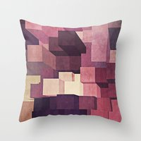 candy Throw Pillows featuring Candy by Losal Jsk