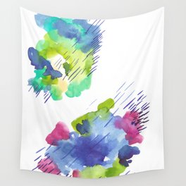 180802 Beautiful Rejection 14| Colorful Abstract Wall Tapestry