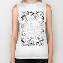 Synesthesia: Bad at Love (Halsey) Biker Tank