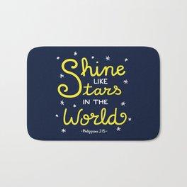 Shine Like Stars Bath Mat