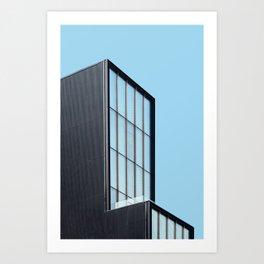 Modern architecture art gallery in New York Art Print