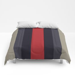 High Fashion Designer Style Stripes Comforters