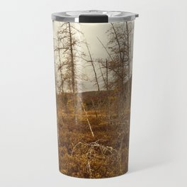 tree in the bog Travel Mug