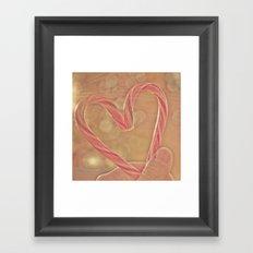I Heart Xmas Framed Art Print