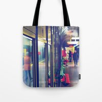 subway Tote Bags featuring subway. by zenitt