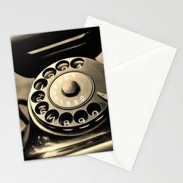 Vintage telephone Stationery Cards