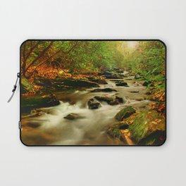 Fall Along Rock Castle Laptop Sleeve