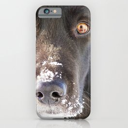 Gaze into my eyes iPhone Case