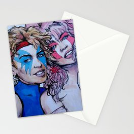 Jem and Dazzler - Kylie and Dannii Minogue Stationery Cards