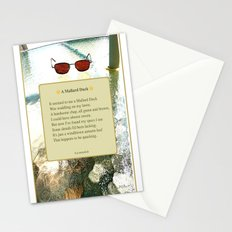 A Mallard Duck Poster Stationery Cards