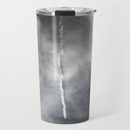 Plane Trails Travel Mug