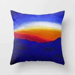 Bernal Hill Abstract | 2011 Throw Pillow